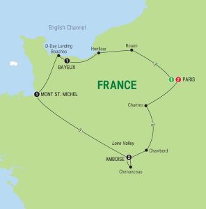 treasures of france tour