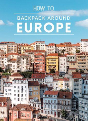 backpack europe