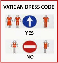 vatican city dress code