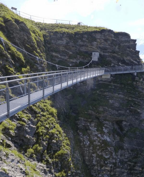 first cliff walk in switzerland