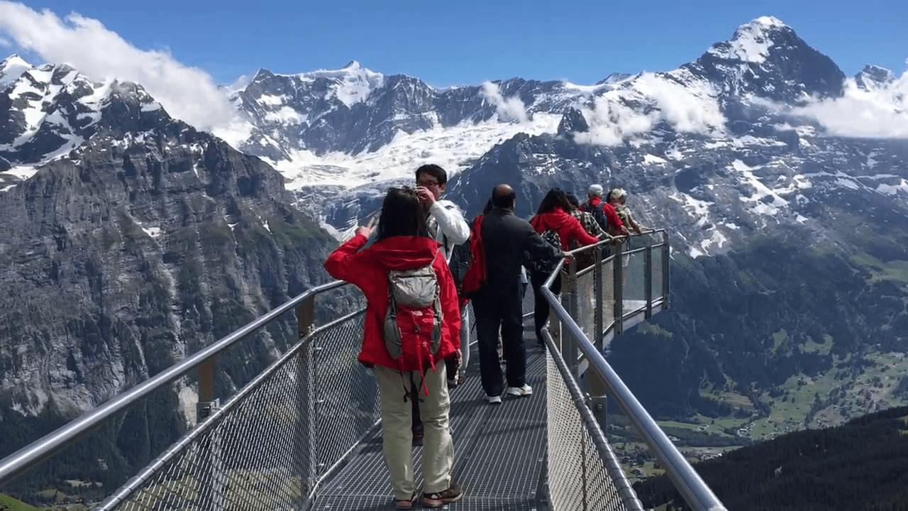 first cliff walk observation deck