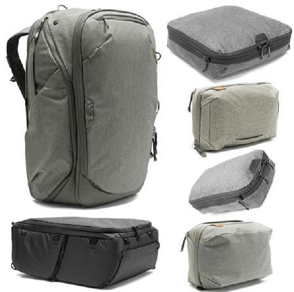 packing cubes backpack
